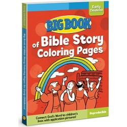 Big Book of Bible Story Coloring Pages for Early Childhood ( Big Books