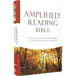 Amplified Reading Bible, Hardcover - A Paragraph-Style Amplified Bible for a Smoother Reading Experience