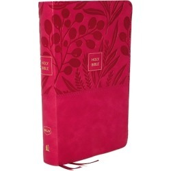 Nkjv, Reference Bible, Personal Size Large Print, Leathersoft, Pink, R - Holy Bible, New King James Version found on Bargain Bro from cokesbury.com US for USD $22.79