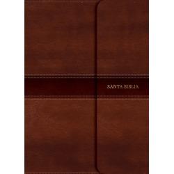 Rvr 1960 Biblia Letra Grande Tamano Manual, Marron Con Indice y Cierre found on Bargain Bro India from cokesbury.com US for $47.99