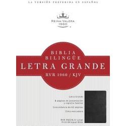 Rvr 1960/KJV Biblia Bilingue Letra Grande; Negro Tapa Dura found on Bargain Bro India from cokesbury.com US for $31.99