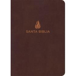 NVI Biblia Compacta Letra Grande, Marron Piel Fabricada found on Bargain Bro India from cokesbury.com US for $27.99