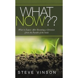 What Now - What to Expect After Becoming a Christian (From the Parable of the Soils) found on Bargain Bro India from cokesbury.com US for $26.95