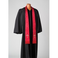 Silk Red Latin Cross Stole found on Bargain Bro from cokesbury.com US for USD $171.00