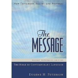 The Message Bible New Testament, Psalms, and Proverbs Pocket Paperback