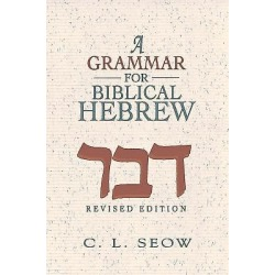 A Grammar for Biblical Hebrew (Revised Edition) found on Bargain Bro from cokesbury.com US for USD $30.39