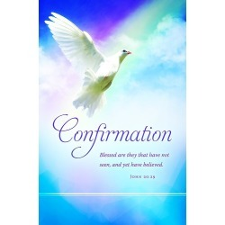 Confirmation Bulletin - Confirmation - John 20:29 (Pkg 100)