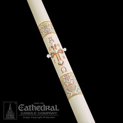 Cathedral Investiture Paschal Candle 2-3/16 x 48 found on Bargain Bro India from cokesbury.com US for $137.90