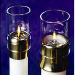 Lux Mundi Draft Protector for Candle Shells - Multiple Sizes Availalble