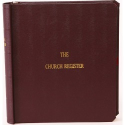 Westminster Small Church Register Binder