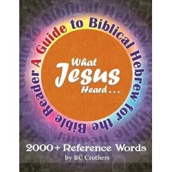 What Jesus Heard - A Guide to Biblical Hebrew for the Bible Reader