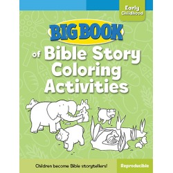 Big Book of Bible Story Coloring Activities for Early Childhood ( Big found on Bargain Bro India from cokesbury.com US for $19.99
