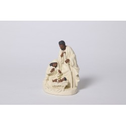 Figurine Holy Family Ivory