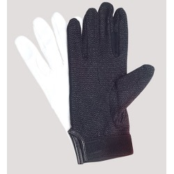 UltimaGlove With Plastic Dots Handbell Gloves - Black, XXL found on Bargain Bro from cokesbury.com US for USD $6.30