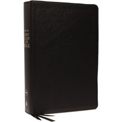 NKJV, Spirit-Filled Life Bible, Third Edition, Genuine Leather, Black - Kingdom Equipping Through the Power