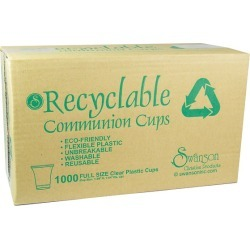 Flexible Communion Cups - Box of 1000 found on Bargain Bro from cokesbury.com US for USD $15.95