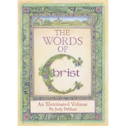 The Words of Christ - An Illuminated Volume by Judy Pelikan found on Bargain Bro India from cokesbury.com US for $15.00