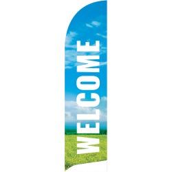 Welcome Summer Flag Banner