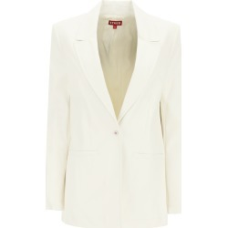 STAUD MADDEN BLAZER IN VEGAN LEATHER S White found on MODAPINS from Coltorti Boutique US for USD $403.00