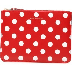 COMME DES GARCONS WALLET POLKA DOTS POUCH OS Red, White Leather found on Bargain Bro UK from Coltorti Boutique EU