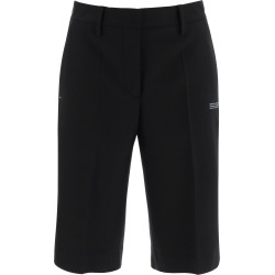 OFF-WHITE FORMAL BERMUDA SHORTS 40 Black Wool found on MODAPINS from Coltorti Boutique US for USD $479.00