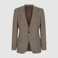 REISS Oscar Slim Fit Checked Blazer found on Bargain Bro UK from endource.com