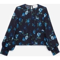 The Kooples Printed Viscose Top found on Bargain Bro UK from endource.com
