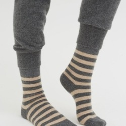 CHINTI & PARKER Striped Cashmere Socks found on Bargain Bro UK from endource.com
