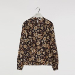 Warehouse Autumn Daisy High Neck Top found on Bargain Bro UK from endource.com