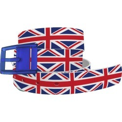 C4 Belt UK Union Jack Belt with Blue Buckle Combo found on Bargain Bro Philippines from equestrian collections for $34.99