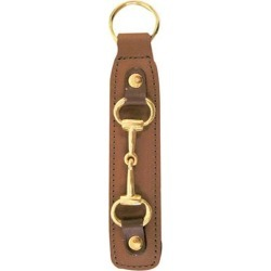 Leather Key Fob With Snaffle Bit