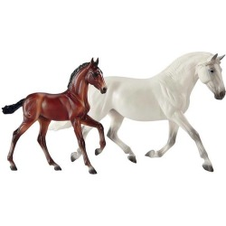 Breyer Traditional Fantasia Del C and Gozosa found on Bargain Bro India from equestrian collections for $44.99