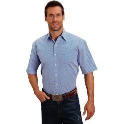 Stetson 1508 Linked Geo Short Sleeve Shirt - Mens