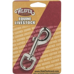 Weaver Leather Nickel Plated Snap found on Bargain Bro India from equestrian collections for $2.07
