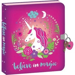 Kelley Unicorn Foil Diary