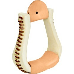 Weaver Rawhide Covered Bell Stirrups found on Bargain Bro Philippines from equestrian collections for $49.54
