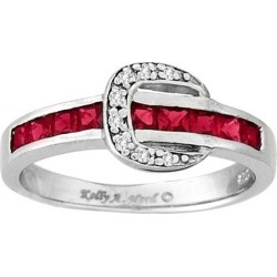 Kelly Herd Channel Set Buckle Ring- Red found on Bargain Bro India from equestrian collections for $93.99