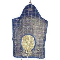 Plaid Mesh Hay Bag