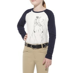 Ariat Hand Sketch Tee - Kids found on Bargain Bro India from equestrian collections for $13.95