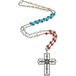 Rock 47 Vintage Kitsch Scalloped Cross Necklace found on Bargain Bro India from equestrian collections for $19.99