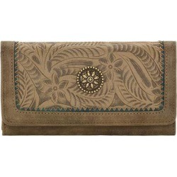 Bandana Guns And Roses Flap Wallet- Ladies found on Bargain Bro India from equestrian collections for $37.95