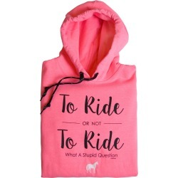 Stirrups To Ride Or Not To Ride Hooded Sweatshirt - Ladies found on Bargain Bro Philippines from equestrian collections for $35.95
