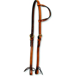 Circle Y One Ear-Single Ply-Tie Headstall found on Bargain Bro Philippines from equestrian collections for $46.99
