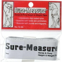 Tough-1 Sure Measure Horse & Pony Height & Weight Tape
