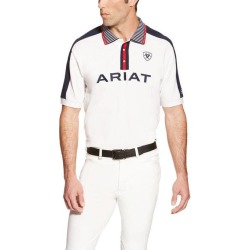 Ariat FEI New Team Polo - Mens - White found on Bargain Bro India from equestrian collections for $38.00