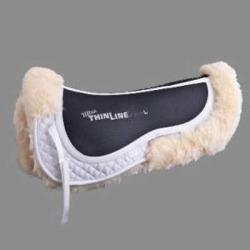 Ultra ThinLine Sheepskin English Comfort Half Pad