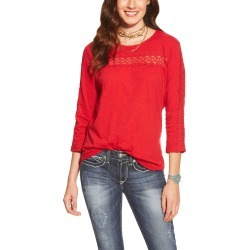 Ariat Myra Top - Ladies - Rouge found on Bargain Bro India from equestrian collections for $12.00