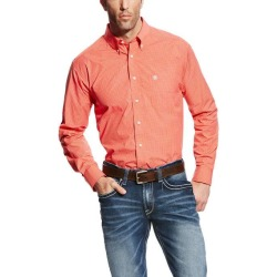 Ariat Ford Long Sleeve Performance - Mens - Hot Coral found on Bargain Bro Philippines from equestrian collections for $44.00