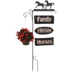 DEALS Gift Corral Garden Stake Horses