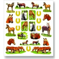 Kelley Draft Horse Stickers